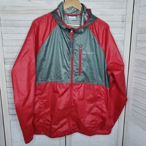 NWT Columbia Warmer Days Windbreaker Large Mens